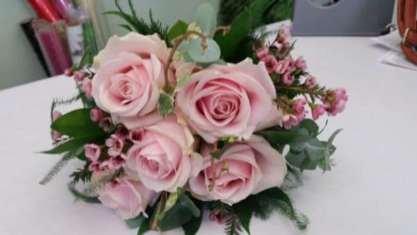 Brides Bouquet Hand Tied 2