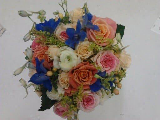 Brides Bouquet Hand Tied 1