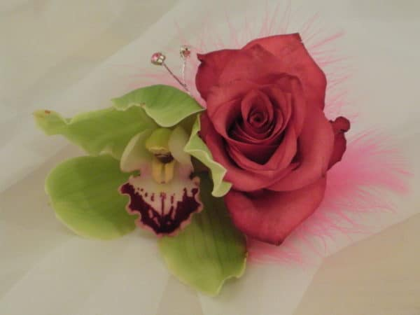 Corsage orchid and rose 1