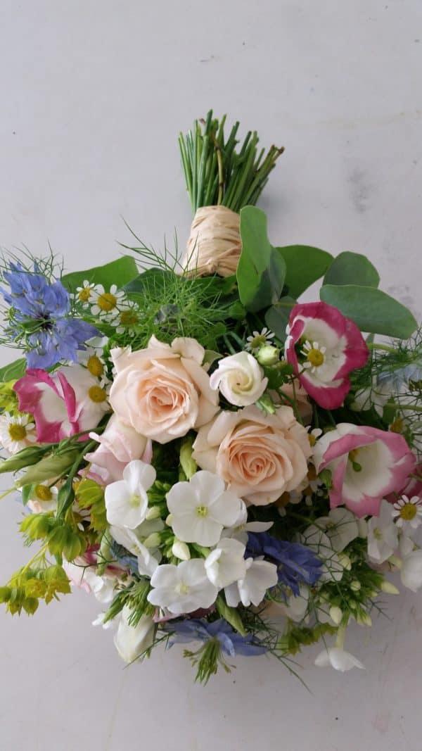 Summer Bridal Hand Tied Bouquet 1
