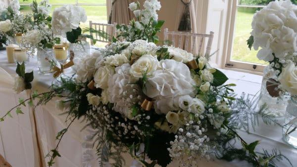 Top Table Wedding Arrangement 1