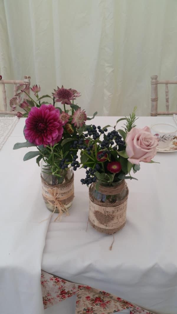 Jam Jars for weddings 1