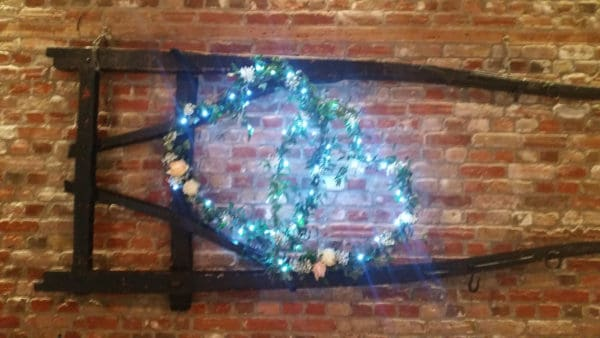 Double Heart for Wedding venue dressing 1