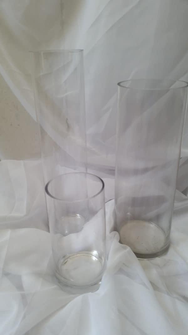 Cylinder vase hire 1