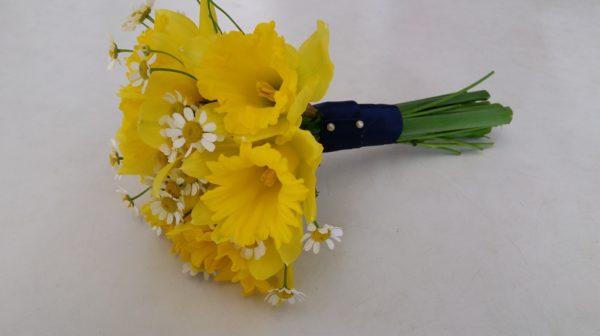 Bridesmaids Daffodil Posy 1