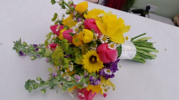 Spring Bridal Bouquet 1