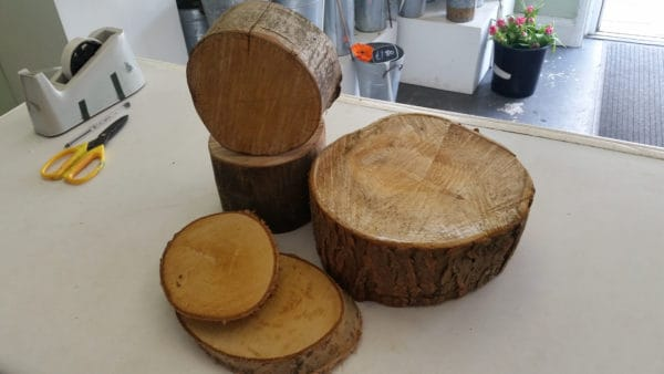 Wooden Plates and Blocks 1