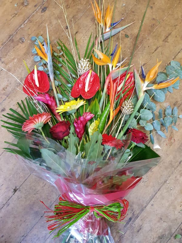 Tropical Hand Tied Bouquet 1
