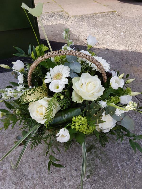 White Basket 1