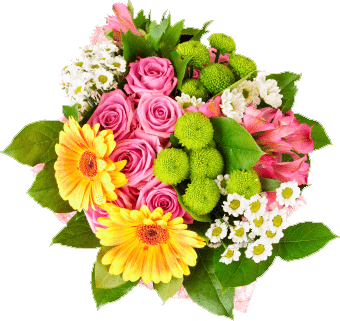 Bright Seasonal Bouquet 1