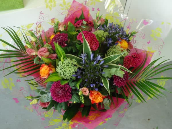 Hand tied Colourful Bouquet 1
