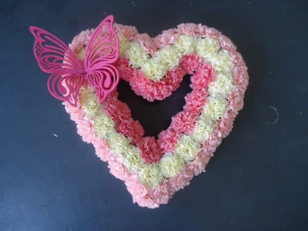 Open heart in Carnations 1