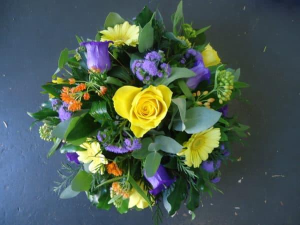 Posy Bowl Seasonal Flowers 1