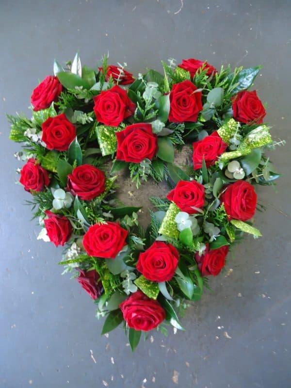 Open Heart in Roses 1