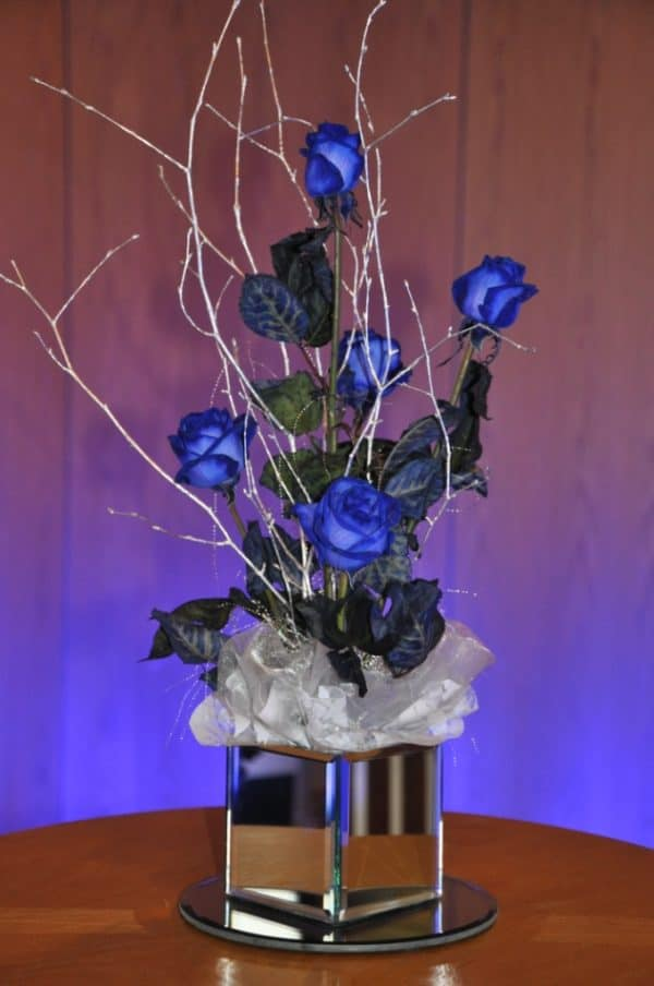 Blue Rose Arrangement 1