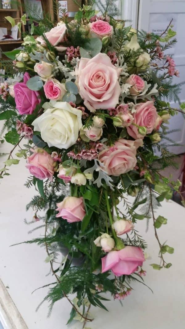 Wonderful Shower Bouquet in pinks 1