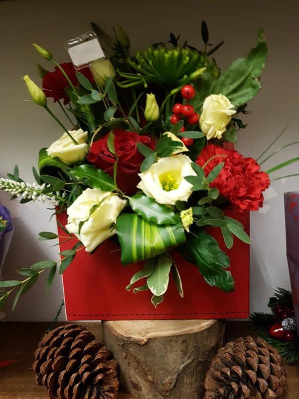 envelope of flowers
