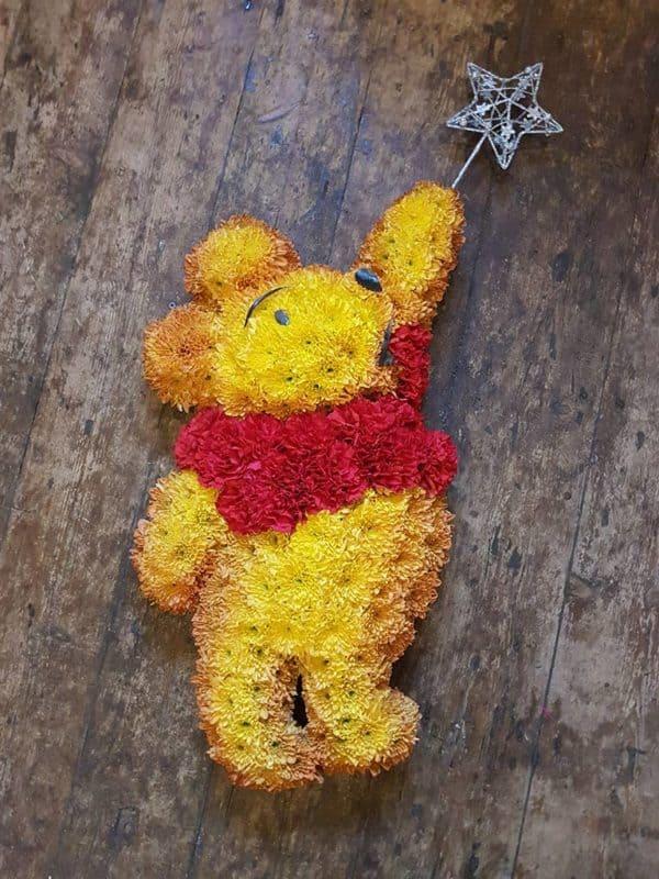Hand-drawn & cut Winnie the Pooh Design Board 1