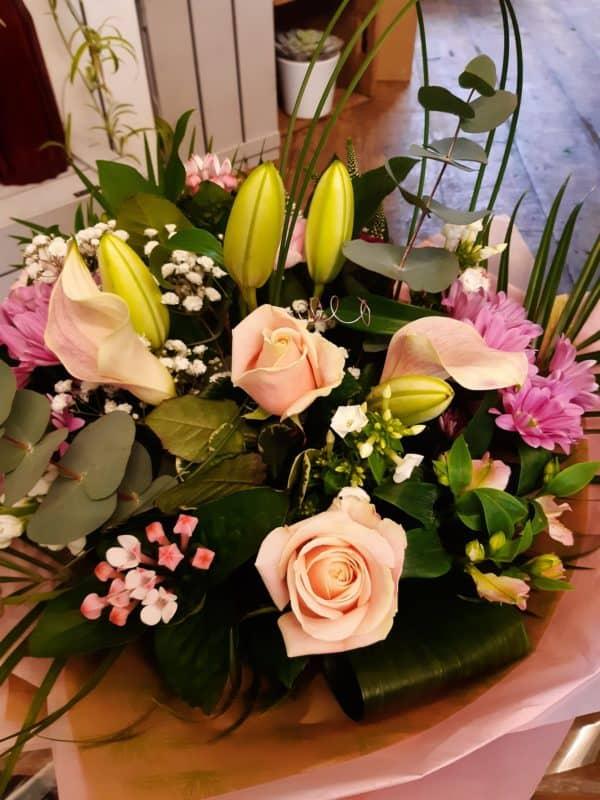 Pretty In Pink Bouquet 1